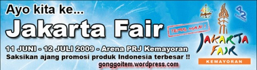 logo jakarta fair 2009