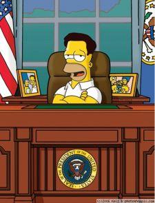 homer simpson president