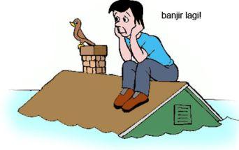 Banjir kartun