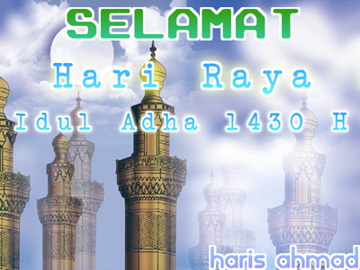 Selamat hari raya idul adha 1430 h